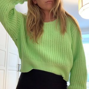 Tna chunky knit sweater